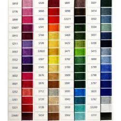 color list dmc satin color chart list of colors color threads dmc