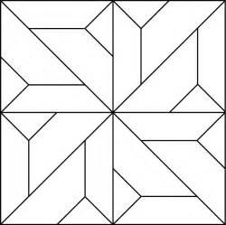 Geometric Patchwork Patterns - pattern quilt block geometric
