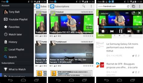 android alternative supertube une alternative 224 avec le mode fen 234 tr 233 sur android