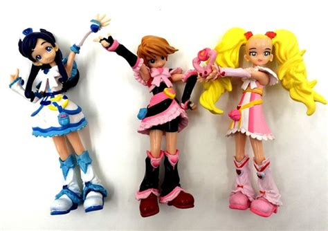 Pretty Cure Figure Set 3 3pcs lot 10cm 11cm japanese anime figure pretty cure
