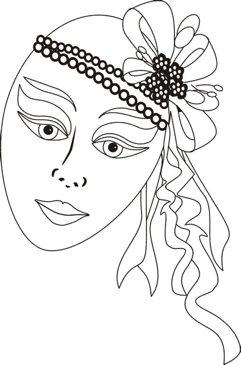 venetian masks coloring book for adults venetian masks 6 coloring pages
