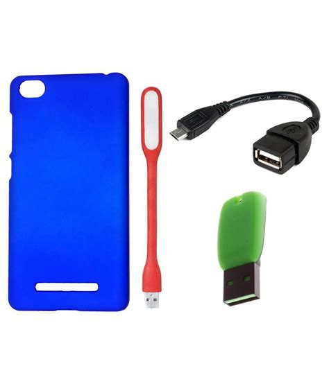 Xiomi Redmi2 Prime 216 vsure back cover for xiomi redmi2 prime blue with led light otg cable card reader buy vsure