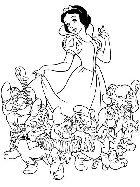 imagenes de blancanieves descargar gratis dibujos para colorear blancanieves