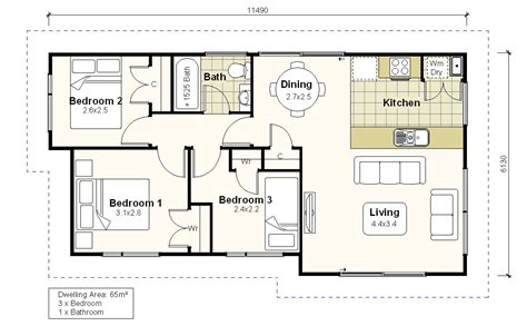 house layout investor homes plan ih65b
