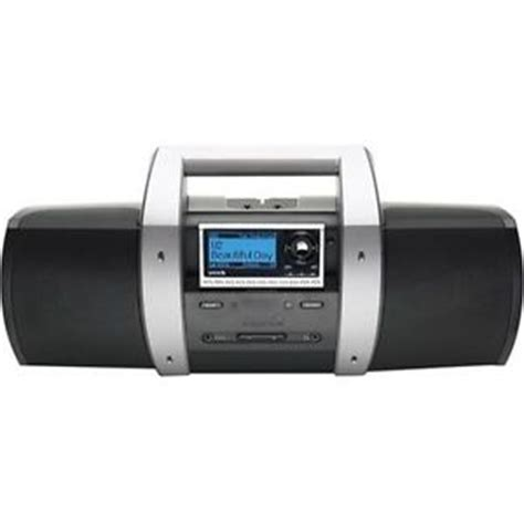 sirius sub x1 satellite radio portable home boombox system