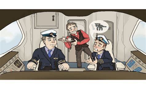 Cabin Pressure Mr Birling by Captain Dons Cap