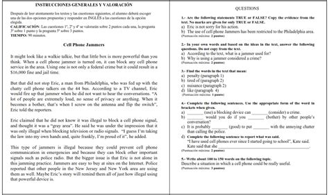 preguntas en ingles faciles c 243 mo aprobar el ingl 233 s del bachillerato examen de ingl 233 s