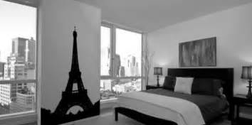 inspiring small black and white room decor feat paris