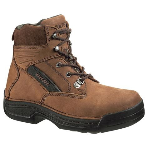 s wolverine 174 6 quot durashocks 174 steel toe electrical