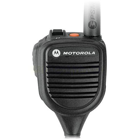 motorola pmmnb impres public safety lapel microphone