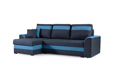 kleines schlafsofa mit ottomane blau schlafsofas und weitere sofas couches g 252 nstig