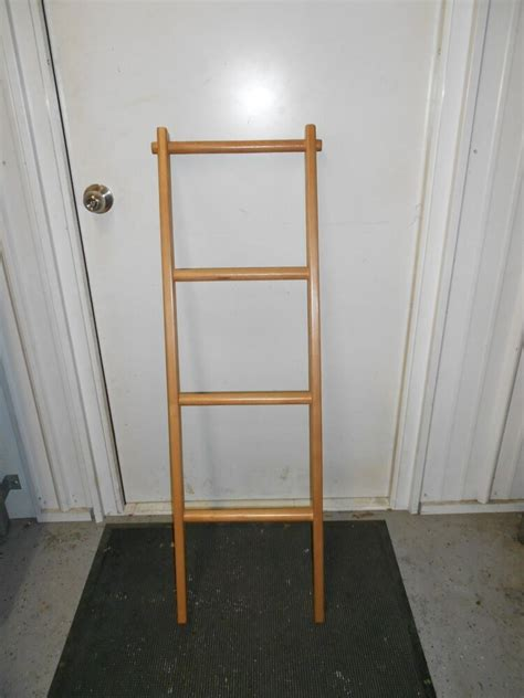 Wooden Bunk Bed Ladder by Rv Cer Trailer Solid Wood Customer Crafted Bunk Bed