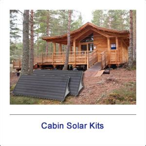 Cabin Solar Kit by Complete Solar Systems Shop Solar