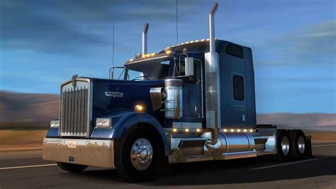 American Truck Simulator update adds new truck, explains US red light rule   VG247
