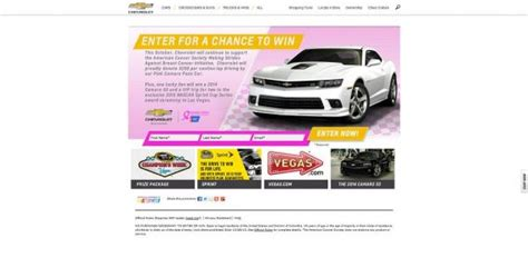 Win A Camaro Sweepstakes - camaro sweepstakes html autos post
