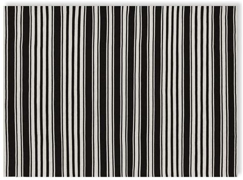 Black And White Striped Kitchen Rug Simple Stripes For Summer