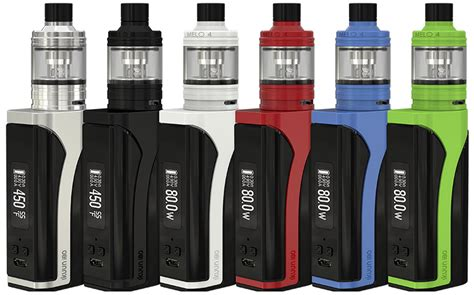 Eleaf Ikuu I80w 3000mah With Melo 4 Starter Kit Vaporizer Authentic eleaf ikuun i80 with melo 4 sub ohm starter kit eleaf usa