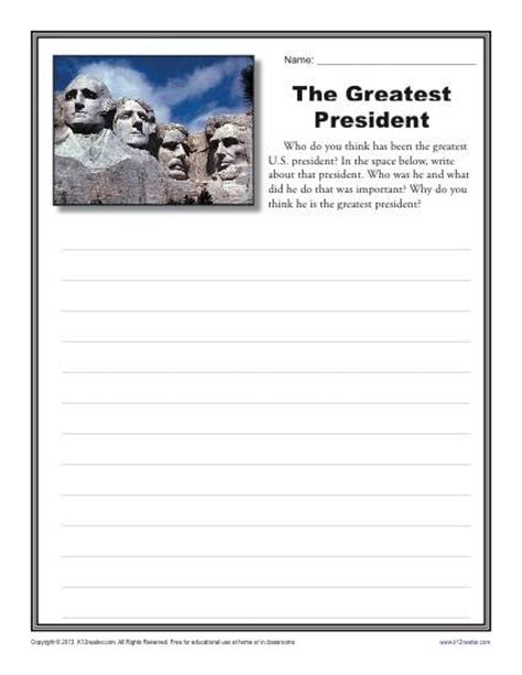 5th Grade Writing Worksheets by 5th Grade Writing Prompt Practice Ccss Test Prep