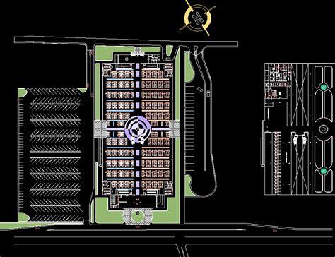 plano municipal market dwg plan  autocad designs cad