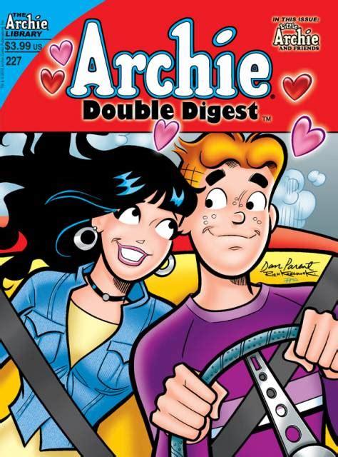 Archie Digest 224 archie s digest magazine 223 an school yule dreamland drama issue