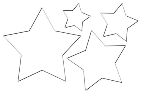 printable templates of stars free star glasses template coloring pages