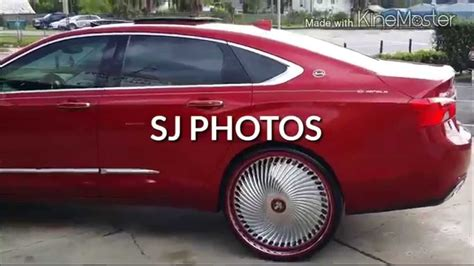 2014 Chevy Impala on Dub 26 inch Diragio floaters done by Team 407 of Sanford YouTube