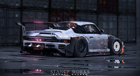 Porsche Killer Aufkleber by Post Apocalypse The Artwork And Renderings Of Khyzyl Saleem