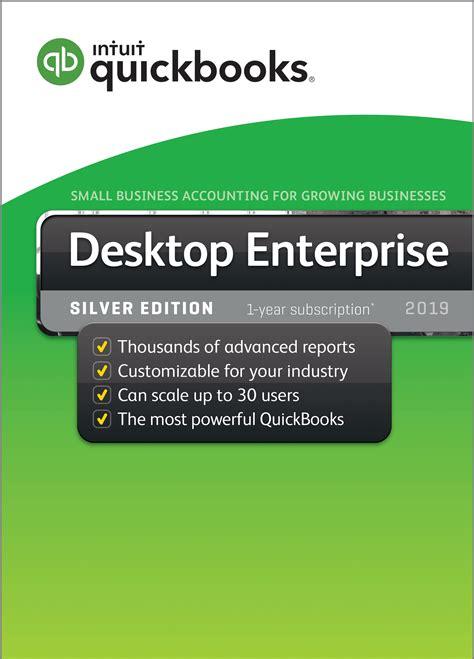 quickbooks enterprise  silver  user  year subscription cpawarehousecom