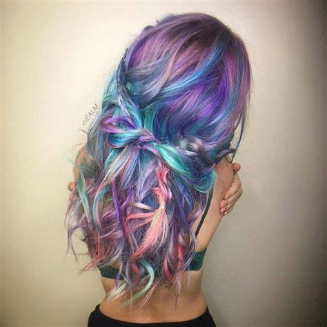 salon la vie highlights hair styling salon prom and hairspiration holographic hairstyles you re going to love