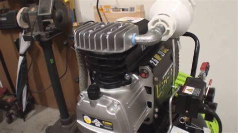 central pneumatic  gallon vertical air compressor