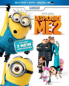 despicable me 2 dvd release date december 10 2013