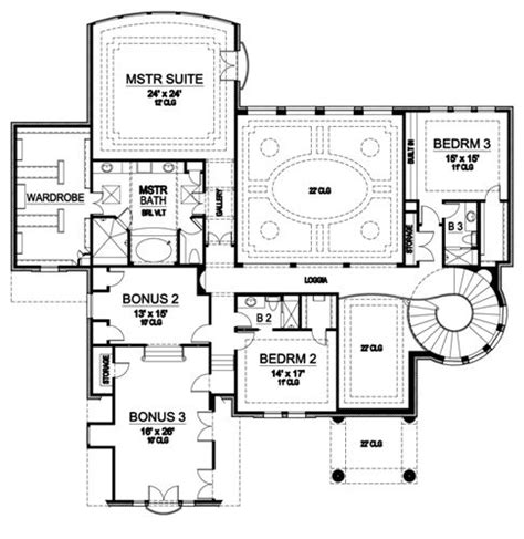 river place floor plan river place 5132 5 bedrooms and 6 5 baths the house designers