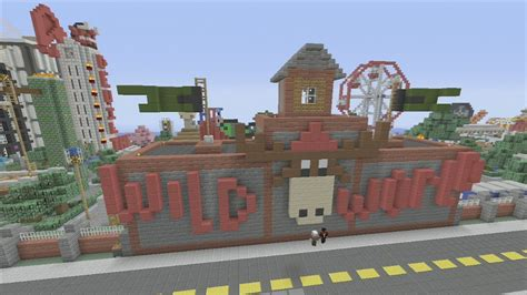 minecraft theme park xbox 360 minecraft xbox epic structures comedian23 s wild world