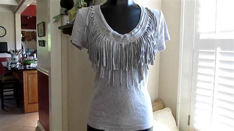 Diy Fringe T Shirt Ambrosia Fringe T Shirt Diy