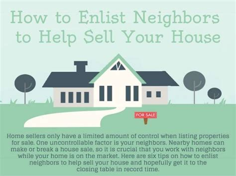 how do you sell a house to an investor 4 brothers buy how to enlist neighbors to help sell your house