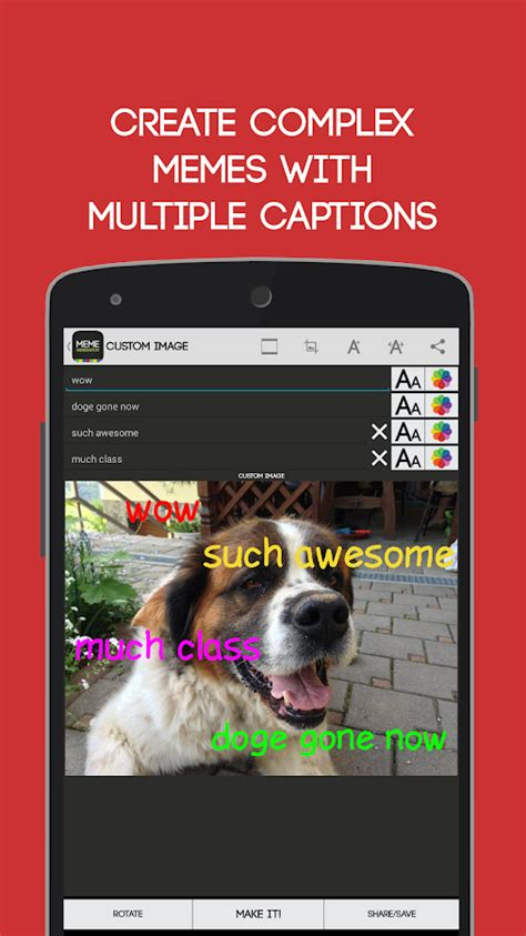 Facebook Meme Generator App - meme generator free android apps on google play