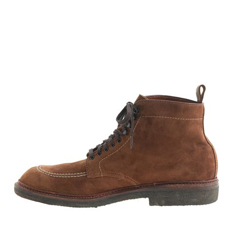 alden suede indy boots in brown for lyst