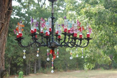 Chandelier Hummingbird Feeder Pin By Carisa Pizzi On The Great Outdoors Pinterest