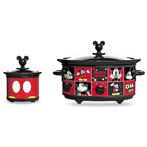 Oven Kompor Mickey Mouse disney 174 mickey mouse 5 quart cooker bed bath beyond