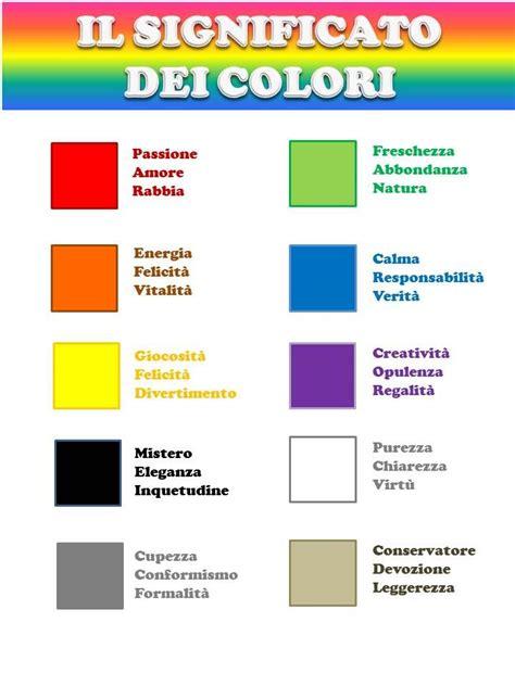 significato colori fiori significato colori cromoterapia colori