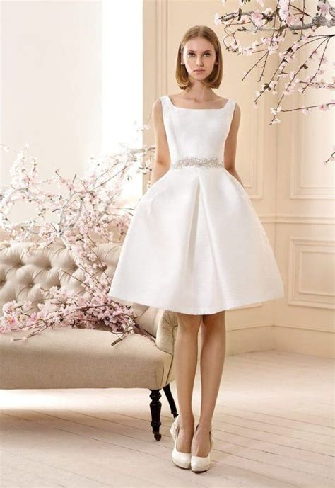 vestido novia civil corto vestidos de novia 2018 2019 blogmujeres