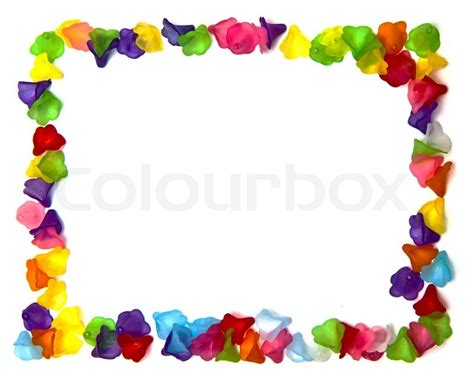 Luxury Decoration For Home by Frame Of Colorful Beads Stock Photo Colourbox