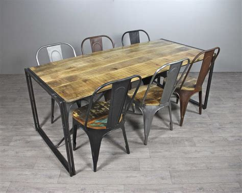 Chaises Style Industriel by Tables Style Industriel Tables Chaises