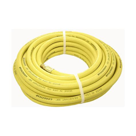 air hose goodyear 100 x 3 8 rubber air compressor hose