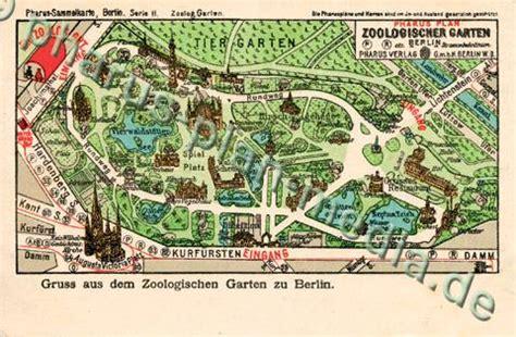 Zoologischer Garten Berlin Plan by Pharus Pharus Historischer Stadtplan Berlin