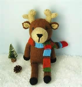 free knitted amigurumi patterns amigurumi knit reindeer pattern digital free