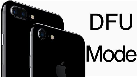 how to put iphone 7 or iphone 7 plus in dfu mode enter dfu mode on iphone 7 7 plus quickly