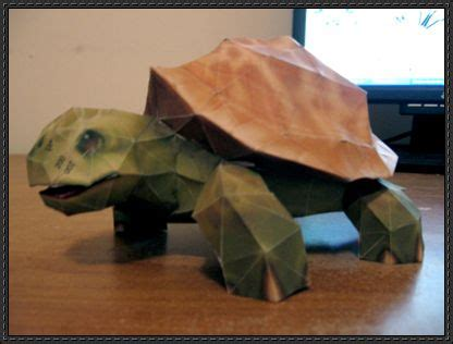 Turtle Papercraft - world of warcraft turtle free papercraft