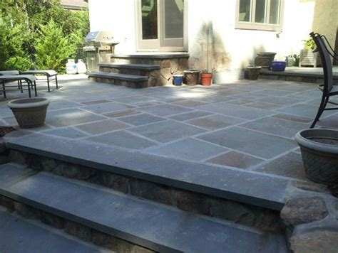 Slate For Patios Slabs by Bluestone Slate Wall Westfield Watchung Nj