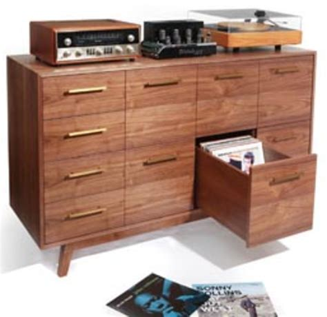vinyl record album storage cabinet the record cabinet cool hunting